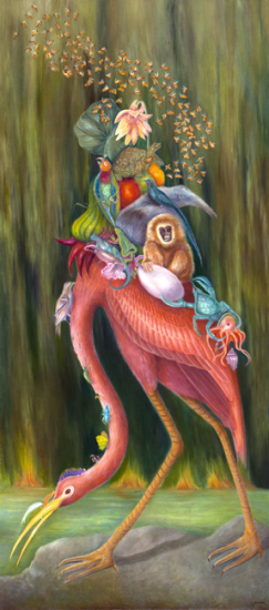 The Ark 53x24 inch oil on panel